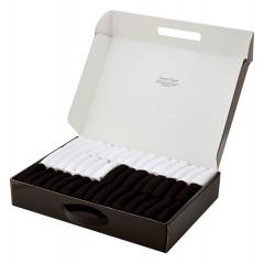 Кейс носков 45 пар чёрные и белые Бизнес